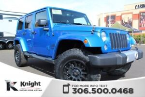 2015 Jeep Wrangler Unlimited Sahara - Navigation - Heated Leathe