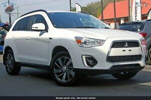 2016 Mitsubishi ASX XB MY15.5 LS 2WD White 6 Speed Constant Variable Wagon Invermay Launceston Area Preview