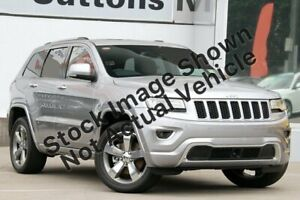 2014 Jeep Grand Cherokee WK MY2014 Overland Silver 8 Speed Sports Automatic Wagon Midvale Mundaring Area Preview