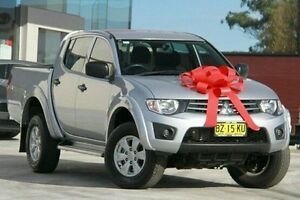 2014 Mitsubishi Triton MN MY15 GLX Double Cab Silver 5 Speed Manual Utility Pennant Hills Hornsby Area Preview