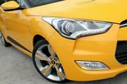 2014 Hyundai Veloster FS4 Series II + Coupe D-CT Yellow 6 Speed Sports Automatic Dual Clutch Kedron Brisbane North East Preview