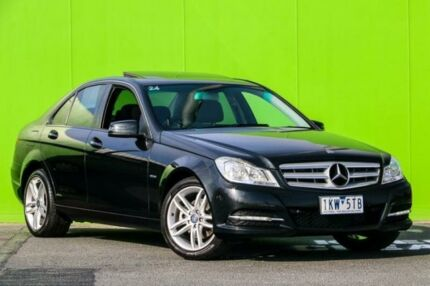2012 Mercedes-Benz C200 W204 MY12 BlueEFFICIENCY 7G-Tronic + Grey 7 Speed Sports Automatic Sedan