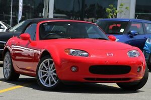 2005 Mazda MX-5 NB30P4 Red 6 Speed Manual Softtop Wavell Heights Brisbane North East Preview