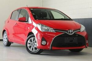 2014 Toyota Yaris Red Automatic Hatchback Hillcrest Port Adelaide Area Preview