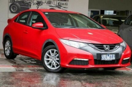 2012 Honda Civic 9th Gen VTi-S Red 6 Speed Manual Hatchback Doncaster Manningham Area Preview