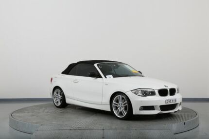 2013 BMW 118d E88 MY12 Update White 6 Speed Automatic Convertible