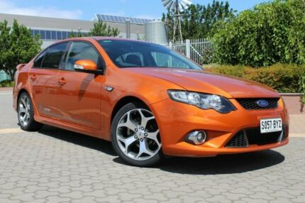 2010 Ford Falcon FG XR6 50th Anniversary Orange 6 Speed Sports Automatic Sedan Wayville Unley Area Preview