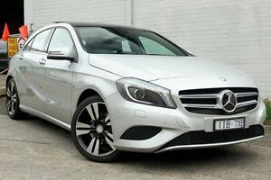 2014 Mercedes-Benz A200 CDI Silver Sports Automatic Dual Clutch Hatchback Burwood Whitehorse Area Preview