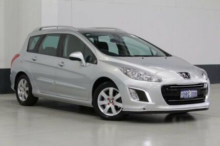 2011 Peugeot 308 Active Touring HDI Silver 6 Speed Automatic Wagon Bentley Canning Area Preview