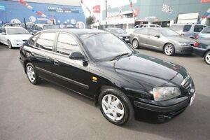 2006 Hyundai Elantra XD MY05 Black 4 Speed Automatic Hatchback Kingsville Maribyrnong Area Preview