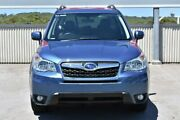 2014 Subaru Forester S4 MY14 2.5i Lineartronic AWD Blue 6 Speed Constant Variable Wagon Gateshead Lake Macquarie Area Preview