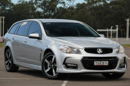 2017 Holden Commodore VF II MY17 SV6 Sportwagon Silver 6 Speed Sports Automatic Wagon West Gosford Gosford Area Preview