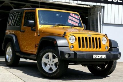 2014 Jeep Wrangler JK MY2014 Sport Gold 6 Speed Manual Softtop