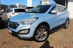 2014 Hyundai Santa Fe DM MY14 Highlander Blue 6 Speed Sports Automatic Wagon Parramatta Park Cairns City Preview