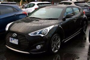 2013 Hyundai Veloster Black Sports Automatic Hatchback Cranbourne Casey Area Preview