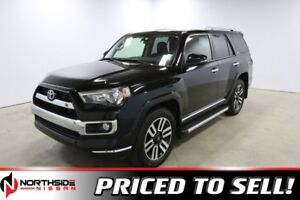 2016 Toyota 4Runner 4WD LIMITED Accident Free,  Leather,  Heated