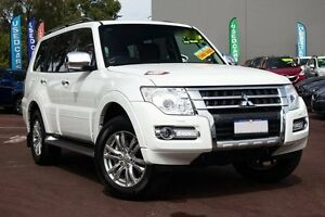 2015 Mitsubishi Pajero NX MY15 GLS White 5 Speed Sports Automatic Wagon Cannington Canning Area Preview