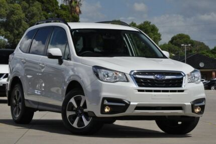 2016 Subaru Forester MY16 2.5I-L White Continuous Variable Wagon