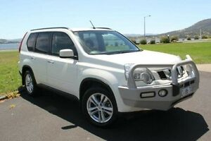 2012 Nissan X-Trail T31 Series IV TS White 6 Speed Manual Wagon Derwent Park Glenorchy Area Preview
