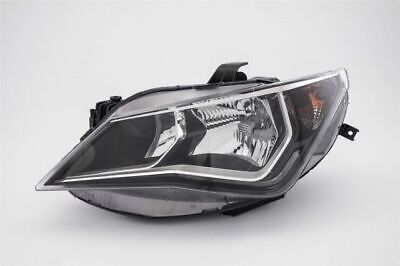 Seat Ibiza 2015 2016 2017 Headlight Twin With Led Drl Lh Left Passengers Nearsid