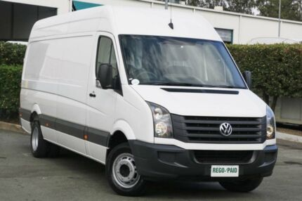 2012 Volkswagen Crafter 2EH2 MY12 50 LWB TDI330 White 6 Speed Automatic Van
