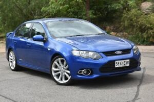 2013 Ford Falcon FG MkII XR6 Turbo Blue 6 Speed Manual Sedan St Marys Mitcham Area Preview