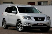 2014 Nissan Pathfinder R52 MY14 ST X-tronic 2WD Silver 1 Speed Constant Variable Wagon Chermside Brisbane North East Preview