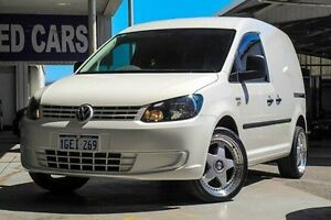 2014 Volkswagen Caddy 2KN MY15 TDI250 SWB DSG White 7 Speed Sports Automatic Dual Clutch Van Myaree Melville Area Preview