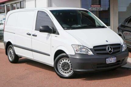 2015 Mercedes-Benz Vito 639 MY14 113CDI SWB White 6 Speed Manual Van Osborne Park Stirling Area Preview