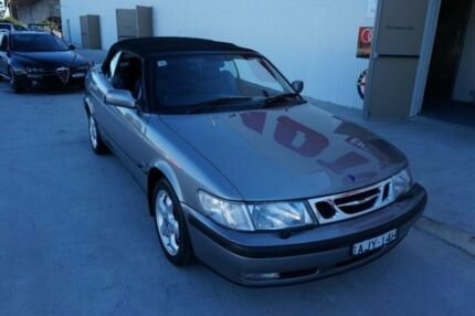 2001 Saab 9-3 S Grey 4 Speed Automatic Convertible Milperra Bankstown Area Preview