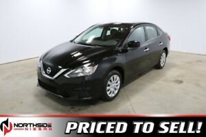 2019 Nissan Sentra S 1.8 7 inch display    , Back up cam, Blueto