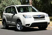 2014 Subaru Forester S4 MY14 2.5i Lineartronic AWD White 6 Speed Constant Variable Wagon Hawthorn Mitcham Area Preview