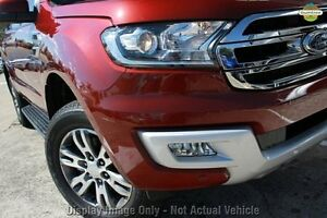 2015 Ford Everest UA Trend Maroon 6 Speed Sports Automatic Wagon Christies Beach Morphett Vale Area Preview