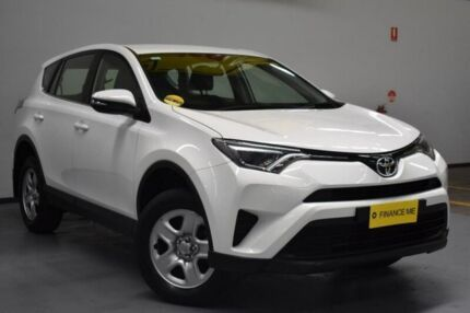 2016 Toyota RAV4 ZSA42R GX 2WD White 7 Speed Constant Variable Wagon Brooklyn Brimbank Area Preview