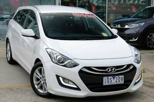 2014 Hyundai i30 GD Active Tourer Creamy White 6 Speed Sports Automatic Wagon Belconnen Belconnen Area Preview