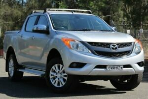 2014 Mazda BT-50 UP0YF1 XTR Silver 6 Speed Sports Automatic Utility Lansvale Liverpool Area Preview