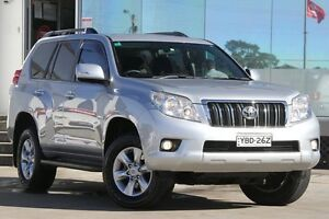 2013 Toyota Landcruiser Prado KDJ150R 11 Upgrade GXL (4x4) Silver 5 Speed Sequential Auto Wagon Old Guildford Fairfield Area Preview