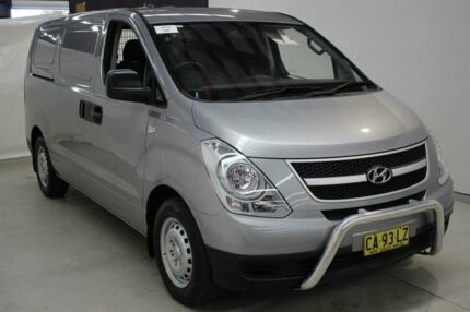 2014 Hyundai iLOAD TQ2-V MY14 Silver 5 Speed Automatic Van