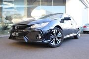 2017 Honda Civic 10th Gen MY17 VTi-L Black 1 Speed Constant Variable Hatchback Hoppers Crossing Wyndham Area Preview