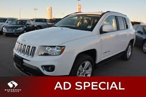 2016 Jeep Compass HIGH ALTITUDE AWD Leather,  Heated Seats,  Blu