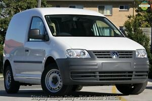 2010 Volkswagen Caddy 2KN SWB Blue 5 Speed Manual Van Gymea Sutherland Area Preview