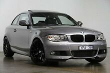 2011 BMW 125I E82 LCI MY11 Steptronic Grey 6 Speed Auto Seq Sportshift Coupe South Melbourne Port Phillip Preview