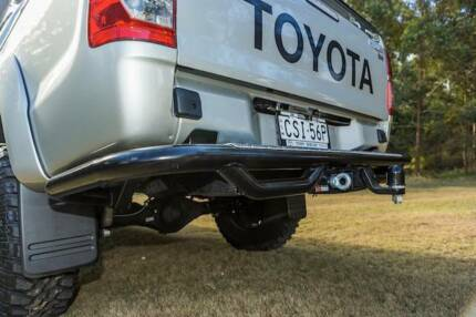 Toyota Hilux Rear Bar with built in Tow bar to suit 05-15