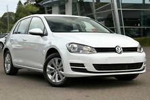 2015 Volkswagen Golf VII MY16 White 7 Speed Sports Automatic Dual Clutch Hatchback Hobart CBD Hobart City Preview