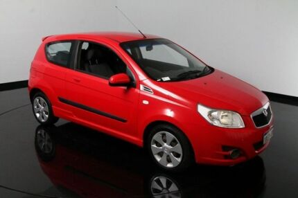 2009 Holden Barina TK MY09 Red 5 Speed Manual Hatchback Victoria Park Victoria Park Area Preview