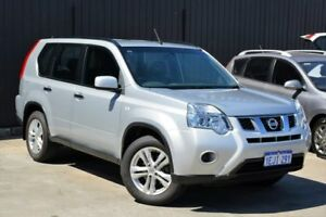 2013 Nissan X-Trail T31 Series V ST 2WD Silver 1 Speed Constant Variable Wagon