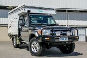 2012 Toyota Landcruiser VDJ79R MY12 Update GXL (4x4) Grey 5 Speed Manual Cab Chassis Cannington Canning Area Preview