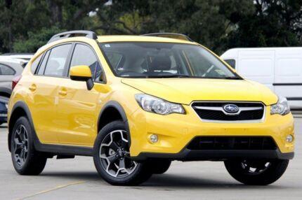 2015 Subaru XV G4-X MY15 2.0I Sunshine Yellow 6 Speed Constant Variable Wagon Greenacre Bankstown Area Preview