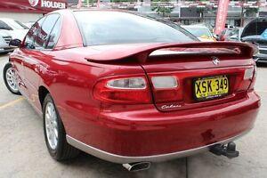 2001 Holden Calais VX II Red 4 Speed Automatic Sedan Homebush Strathfield Area Preview