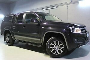2014 Volkswagen Amarok 2H MY14 Black 6 Speed Manual Utility Launceston Launceston Area Preview